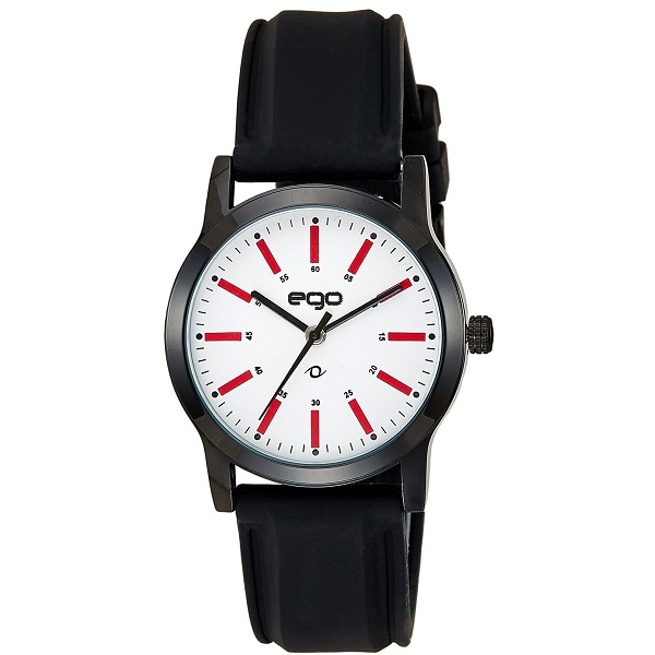 Maxima Ego Analog White Dial Mens Watch