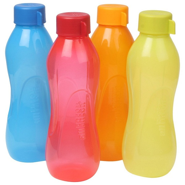 Ratan Plastics All Fresh Bottle 1 Litre Set of 4