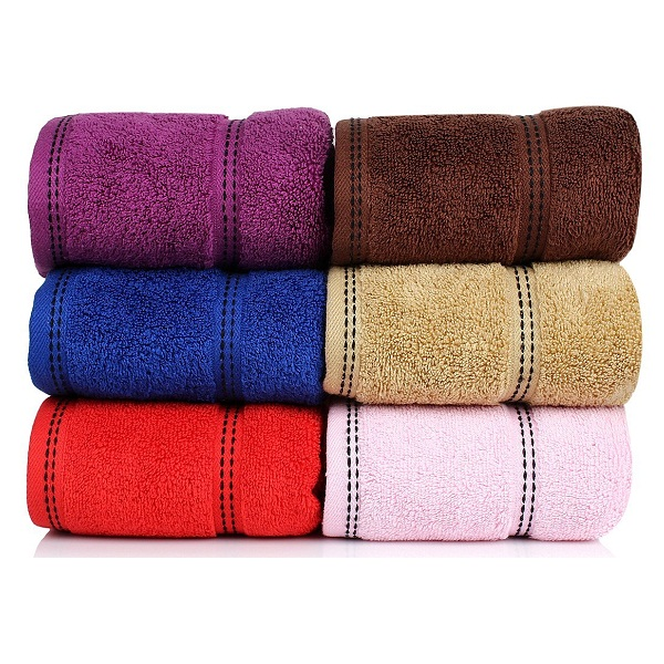 Cloth Fusion Pure Cotton Hand Towel Set of 6 Pcs