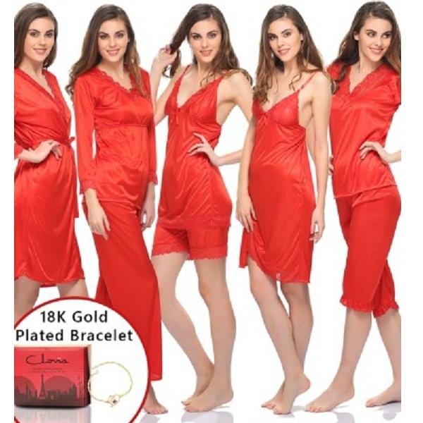 718c533263 Clovia Night Suit Womens Combo price in india- aajkaadeals.com ...
