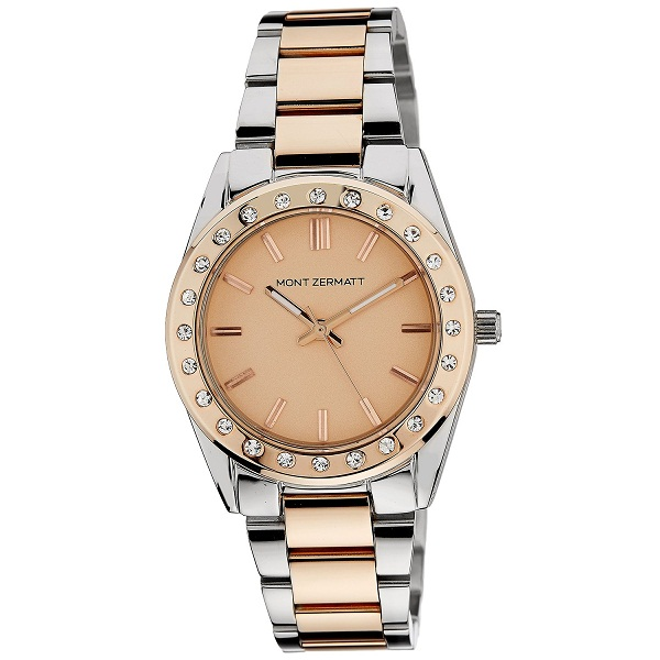 Mont Zermatt Analog Gold Dial Womens Watch