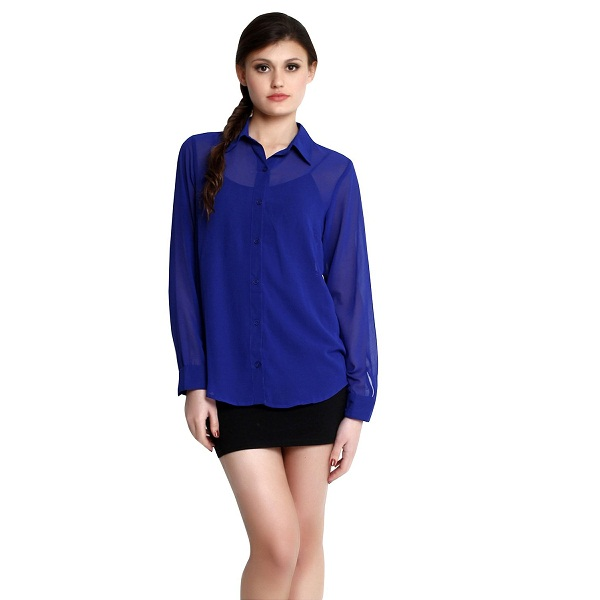 The Gud Look Womens Poly Georgette Top