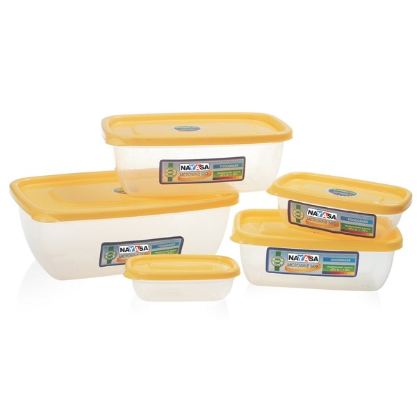 Nayasa Microwave Polypropylene Storage Containers