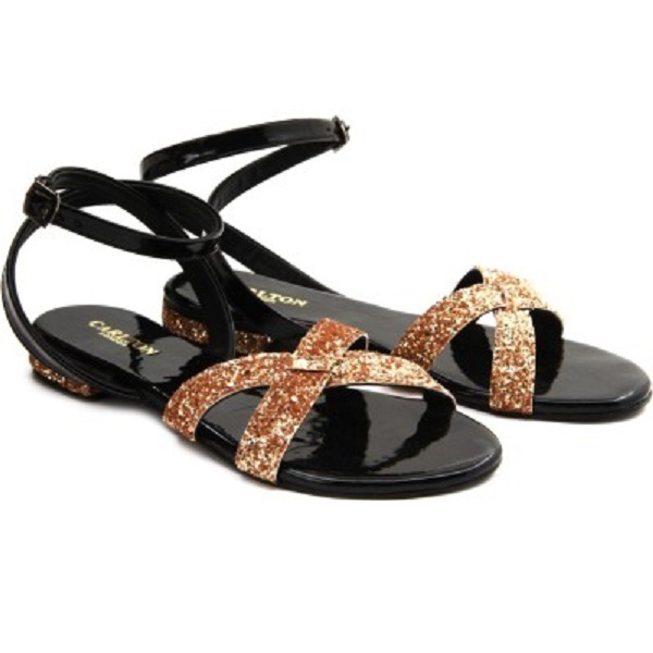 Carlton London Women Black Gold Flats