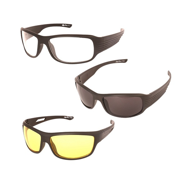 Vast UV Protected Wrap Around Unisex Sunglasses