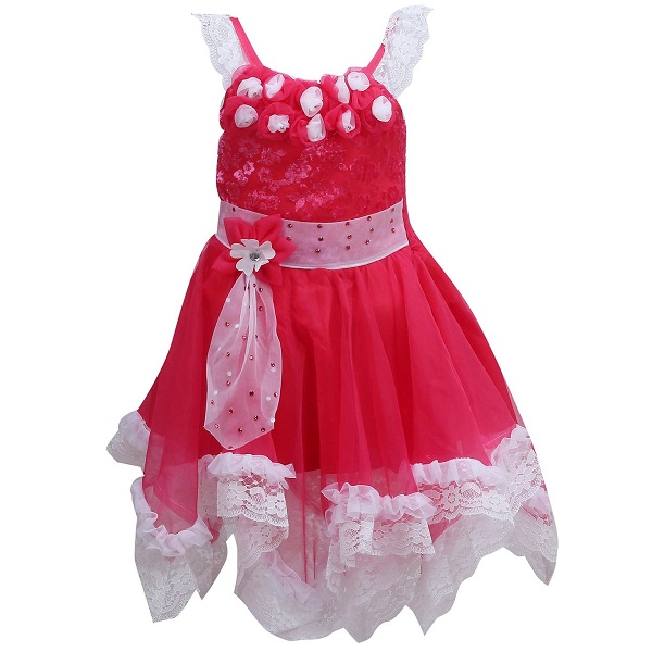 a16e49c9e1194 Wish Karo baby girls Party wear frock dress price in india ...