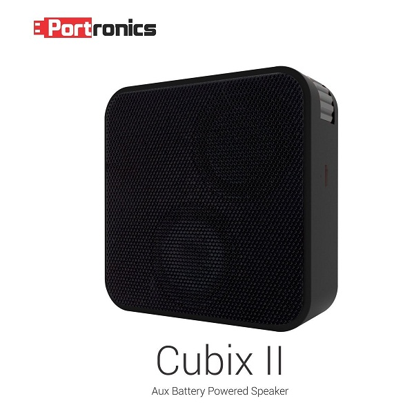 Portronics Cubix II Wired Portable Speaker