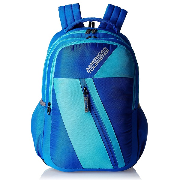 American Tourister Ebony Blue Casual Backpack