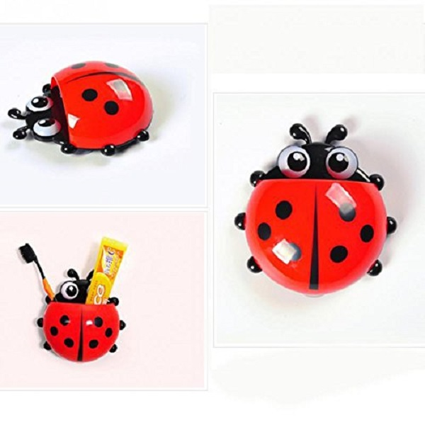 Lovely Ladybug Toothbrush Holder