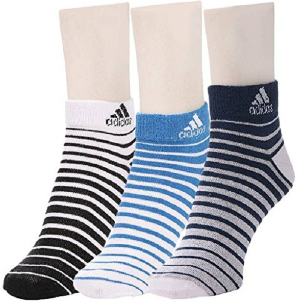 Adidas Flat Knit Low Cut Socks Pack of 3