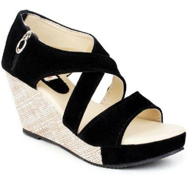 Kanchan Womens Wedges Sandal