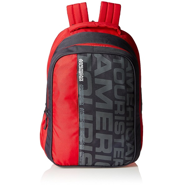 American Tourister Red Casual Backpack