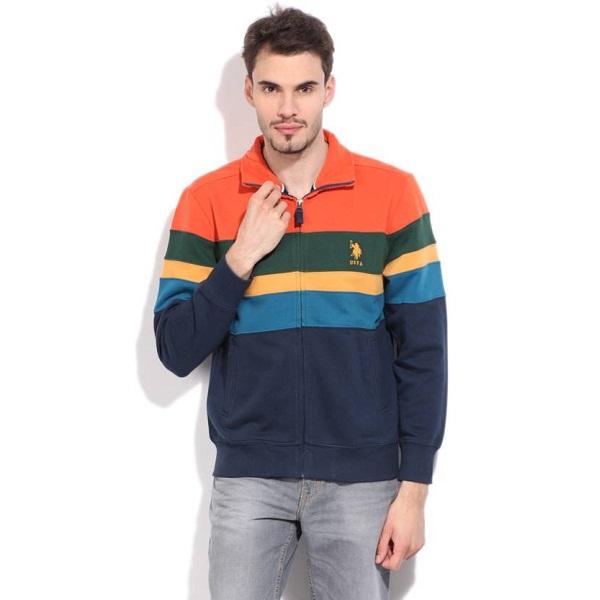 56450009 U S Polo Assn Full Sleeve Striped Mens Sweatshirt price in india ...