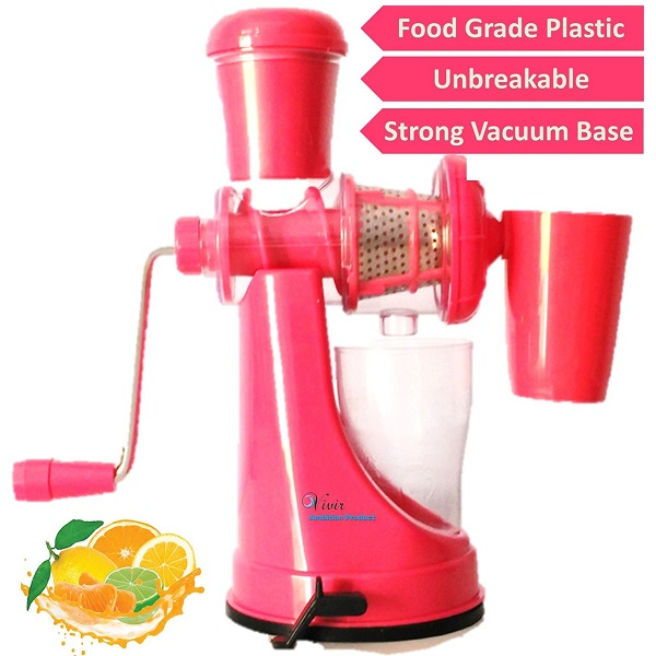 Vivir Plastic Fruit And Vegetable Juicer With Waste Collector