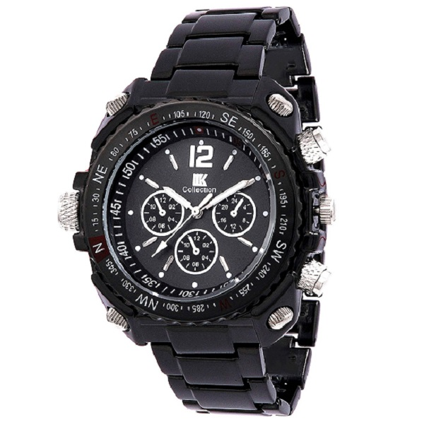 633d8e16c IIK Collection Analogue Round Black Dial MENS Watch price in india ...