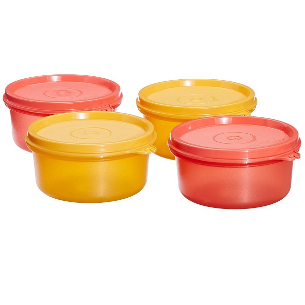 Tupperware Tropical Twin Round Set Of 4