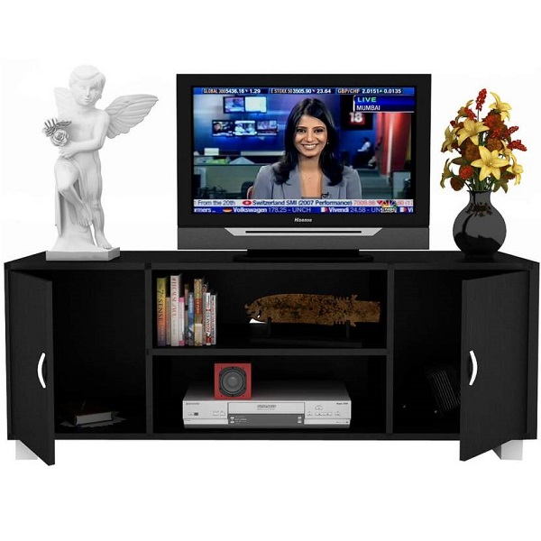 Housefull Engineered Wood TV Stand Brown