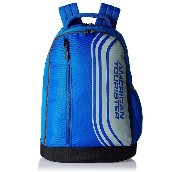 American Tourister Casper Blue Casual Backpack 698ef0e64aa02