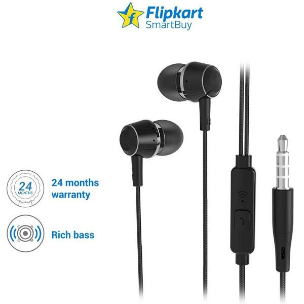 2aaeab37d01 Flipkart SmartBuy In the Ear Headphones