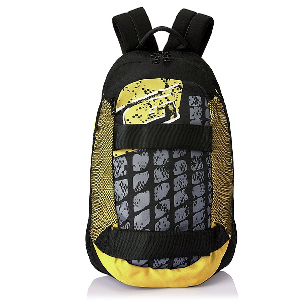 487e24425a78 amazon. Buy Now · Gear 28 ltr Black and Yellow Casual Backpack
