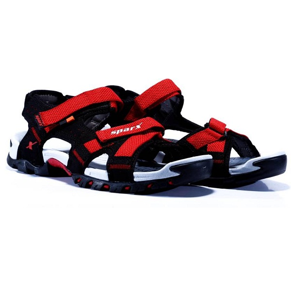 7976095d1 Sparx Men BlackRed Sandals. Rs. 949