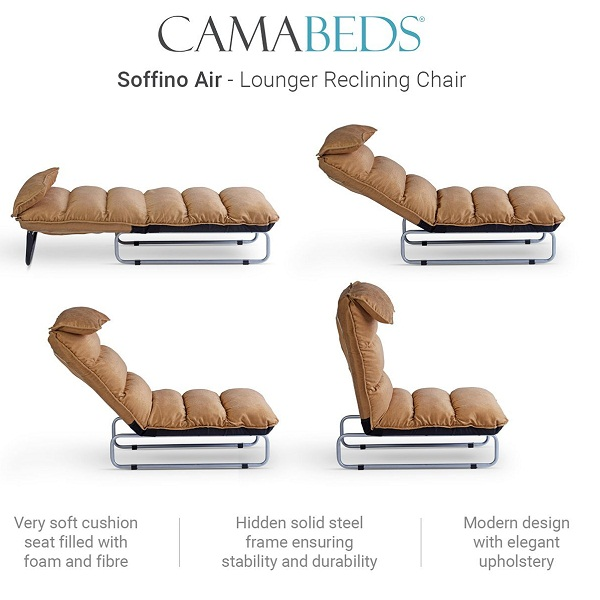Camabeds Soffino Air Lounger Reclining Chair