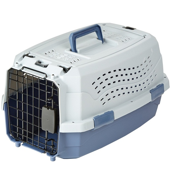AmazonBasics Two Door Top Load Pet Kennel