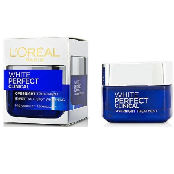 LOreal Paris White Perfect Clinical Overnight Treatment Cream