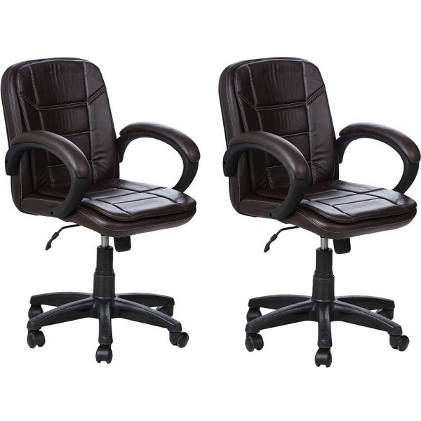 Regentseating RSC Metal Office Chair Set of 2