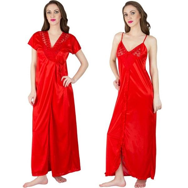 b119058834 Bombshell Womens Nighty with Robe