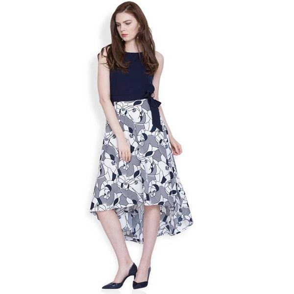 ddd5baec2 Tokyo Talkies Womens Maxi Multicolor Dress price in india ...