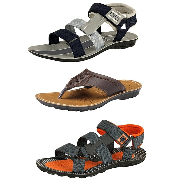Tempo Mens Combo Pack of Casual Sandals And Slippers