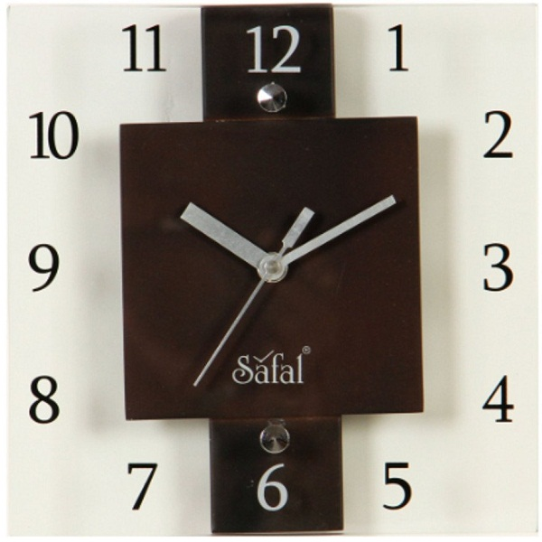 Safal Wooden Wall Clock