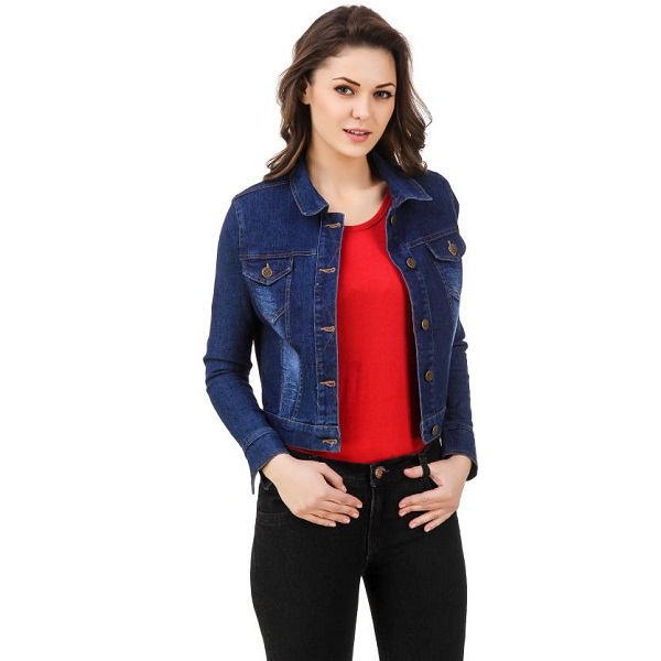5f8fc44408a 99 Affair Full Sleeve Solid Womens Denim Jacket