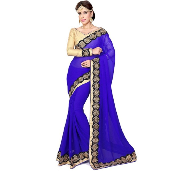 Sourbh Sarees Womens Net Saree