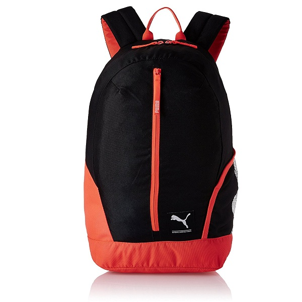 Puma 26 Ltrs Black Red Casual Backpack