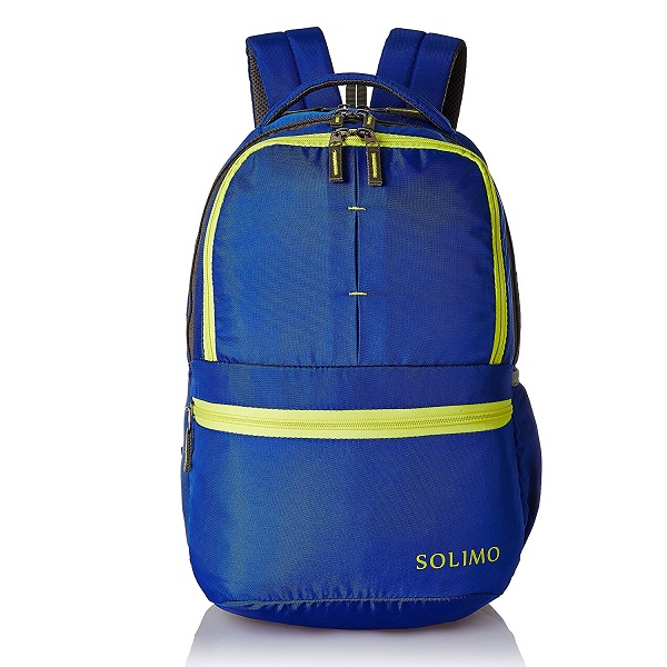 Solimo 25 Ltrs Blue Casual Backpack