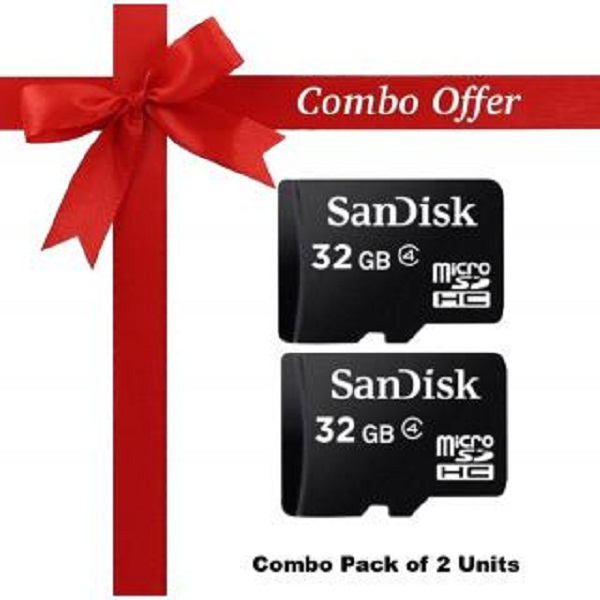 Pack of 2 Sandisk 32 Gb memorydrive