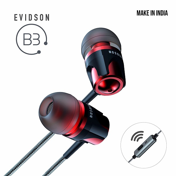 Evidson Audio B3 InEar Earphones with Mic