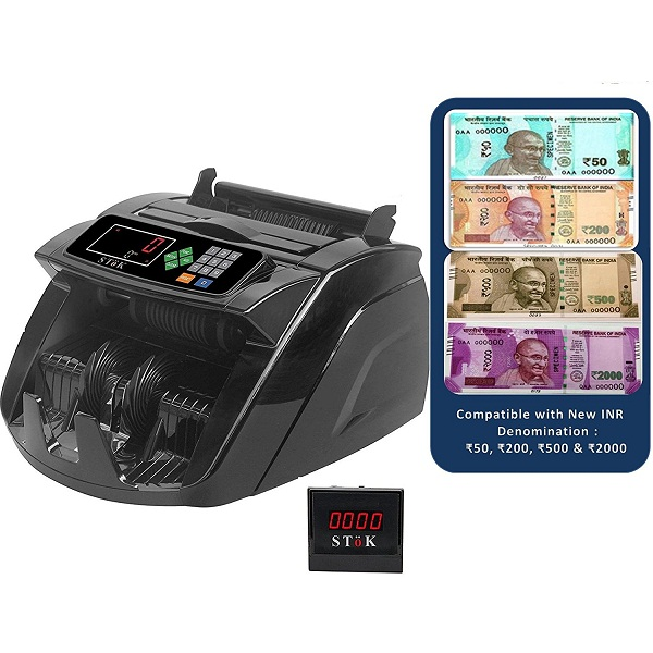 SToK Note Counting Machine And Fake Note Detector