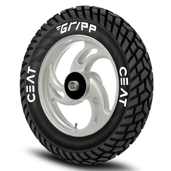 Ceat Gripp 53J Tube Type Scooter Tyre