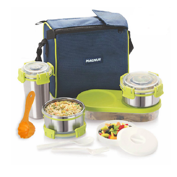 Magnus Lunch Box with Clip Lock Set of 7