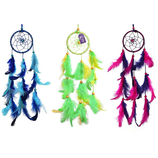 Asian Hobby Crafts Dream Catcher Wall Hanging 3Pcs