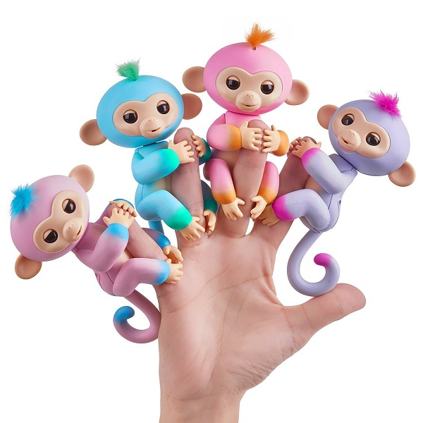 Fingerlings Baby Monkey with Six Interactive Modes