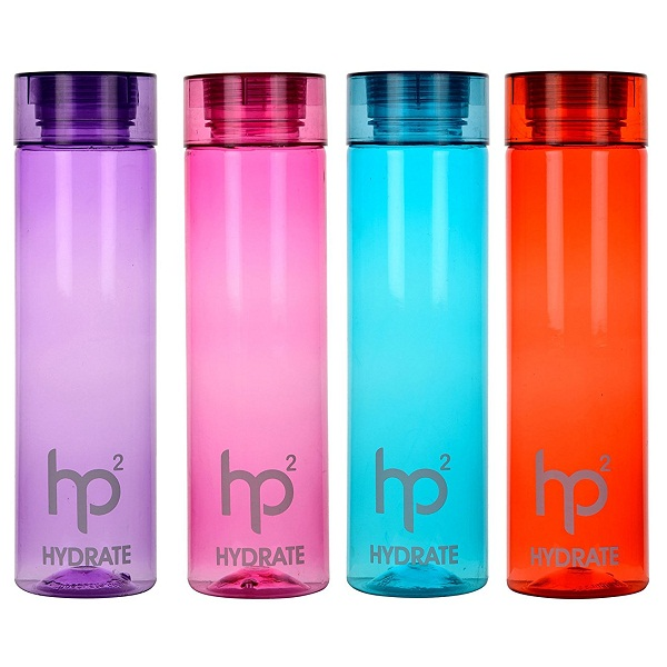 Hydrate Water Bottle Pack Of 4