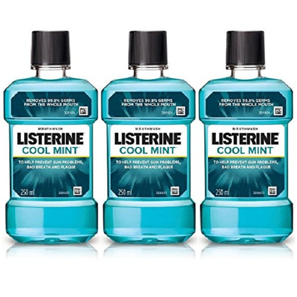Listerine Cool Mint Mouthwash 250ml Buy 2 Get 1 Free