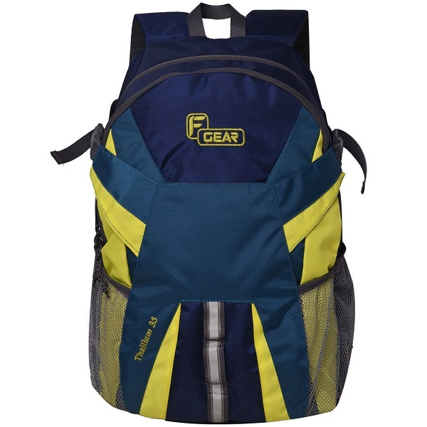 F Gear Britain 21 Ltrs Blue Casual Backpack