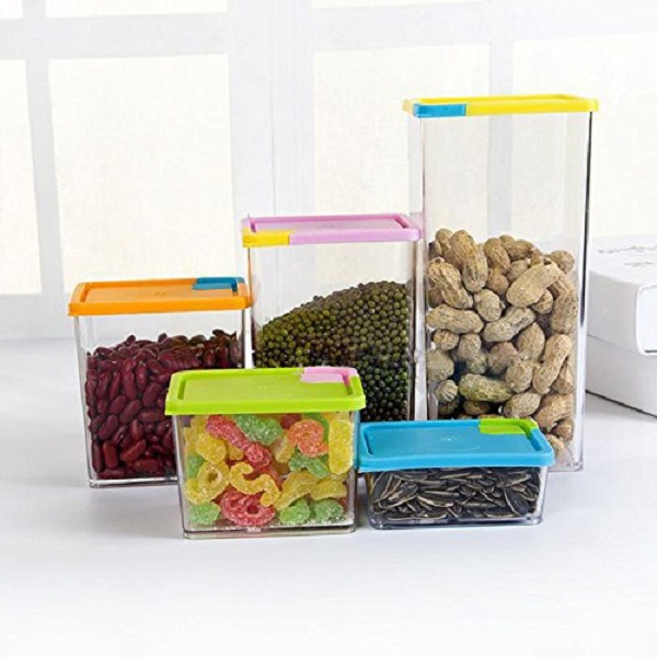 House of Quirk 6 Pcs Storage Container