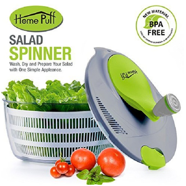 Home Puff Salad Spinner 5 liters
