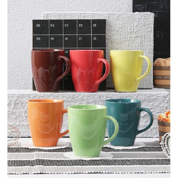 Ceradeco 250 ML Mugs Set of 6